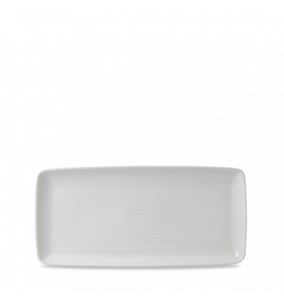 Seis unidades de CHURCHILL EVOPRT271 Evo pearl bandeja rectangular 27.2x12.5 cm.