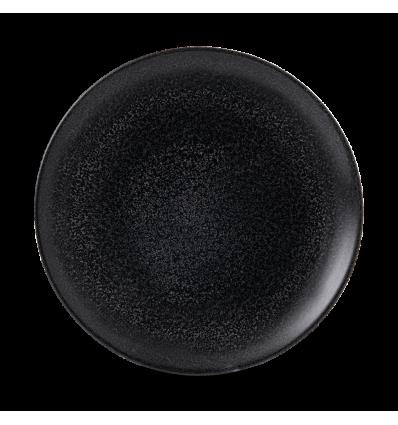 Seis unidades de CHURCHILL EOBKEV101 Origins black plato coupe redondo 26 cm. Evo