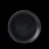 Seis unidades de CHURCHILL EOBKEVP61 Origins black plato coupe redondo 16.5 cm. Evo