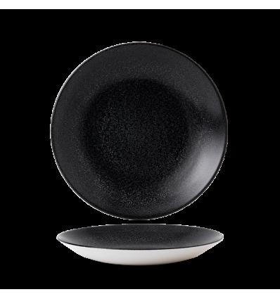 Seis unidades de CHURCHILL EOBKPD271 Origins black plato coupe hondo. 28.1 cm. Evo