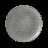 Seis unidades de CHURCHILL EOGYEV101 Origins grey plato coupe redondo 26 cm. Evo