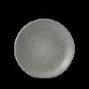 Seis unidades de CHURCHILL EOGYEVP61 Origins grey plato coupe redondo 16.5 cm. Evo