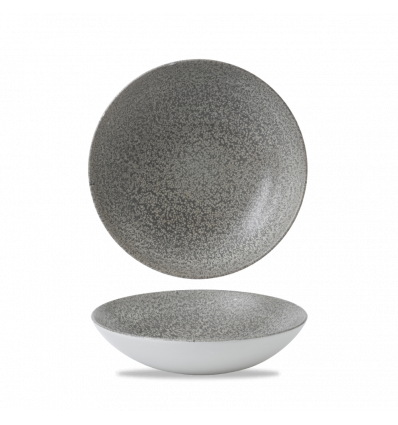 CHURCHILL EOGYEVB91 Origins grey bowl coupe redondo 24.8 cm. Evo