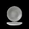 Seis unidades de CHURCHILL EOGYPD251 Origin grey plato coupe hondo. 25.5 cm. Evo