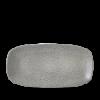 Seis unidades de CHURCHILL EOGYXO111 Evo origins grey plato ovalado rectangular ø29x15 cm.