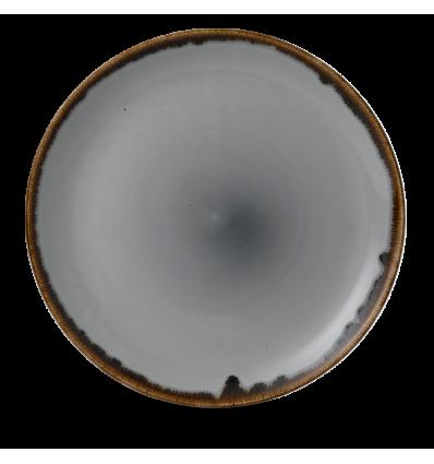 Seis unidades de CHURCHILL HVGYEV111 Grey plato coupe redondo 28.8 cm. Harvest