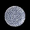 CHURCHILL TZBLEVP61 Blue plato pequeño 16.5 cm terrazo