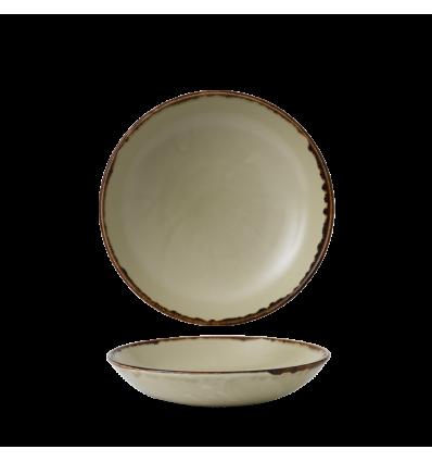 Seis unidades de CHURCHILL HVLIEVB91 Linen bowl coupe redondo 24.8 cm. Harvest