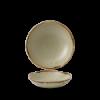 Seis unidades de CHURCHILL HVLIEVB71 Linen bowl coupe redondo 18.2 cm. Harvest