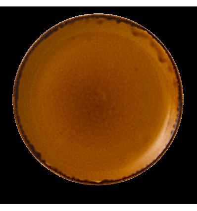 CHURCHILL HVBREV111 Brown plato coupe redondo 28.8 cm. Harvest