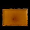 Seis unidades de CHURCHILL HVBRDR341 Harvest brown bandeja rectangular ø34.5x23.3 cm.