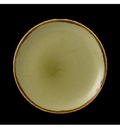 CHURCHILL HVGREVP81 Green plato coupe redondo 21.7 cm. Harvest