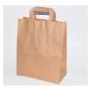 BETIK 1010553 Bolsa de papel kraft asa plana 26x26+17 (5*50). 50 unidades.