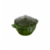 LOS GEMELOS STAUB 40501-094-0 Cocotte alcachofa STAUB albahaca de hierro colado. Diametro: 22cm
