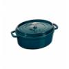 LOS GEMELOS STAUB 40505-206-0 Cocotte STAUB oval la mer de hierro colado . Diametro: 31cm