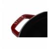 LOS GEMELOS STAUB 40509-355-0 Cocotte STAUB redonda granadina de hierro colado . Diametro: 22cm