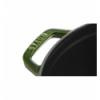LOS GEMELOS STAUB 40509-356-0 Cocotte STAUB redonda albahaca de hierro colado . Diametro: 24cm