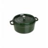 LOS GEMELOS STAUB 40509-361-0 Cocotte STAUB redonda albahaca de hierro colado . Diametro: 28cm
