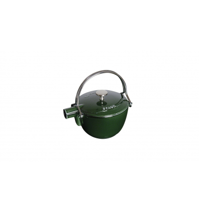 LOS GEMELOS STAUB 40509-423-0 Tetera de hierro colado STAUB. Diametro: 21cm