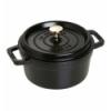 LOS GEMELOS STAUB 40509-487-0 Cocotte STAUB negra de Hierro Colado esmaltado. Diametro: 2cm