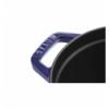LOS GEMELOS STAUB 40510-289-0 Cocotte STAUB oval azul oscuro de hierro colado . Diametro: 31cm