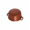 LOS GEMELOS STAUB 40511-297-0 Cocotte STAUB redonda canela de hierro Colado . Diametro: 26cm