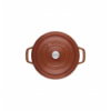 LOS GEMELOS STAUB 40511-298-0 Cocotte STAUB redonda canela de hierro Colado . Diametro: 28cm