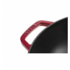LOS GEMELOS STAUB 40511-345-0 Wok de hierro colado STAUB. Diametro: 30cm