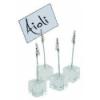 APS 74 Soporte mesa acrilico para indicadores 3x3x12 cm (4 u)
