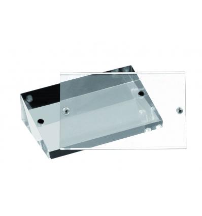 Dieciocho unidades de APS 76 Soporte mesa para tarjetas 9x3x5.5 cm