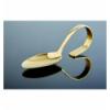 Doce unidades de APS 691 Classic cuchara presentacion oro 12 cm