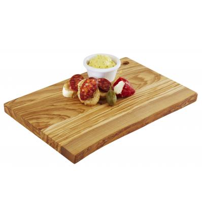 APS 871 Olive tabla rectangular buffet madera olivo 30x20.5x2 cm