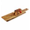 APS 873 Olive tabla rectangular madera olivo con mango 40x15x1.5cm