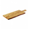 APS 874 Olive tabla rectangular madera olivo con mango 44x20x2 cm