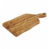 APS 875 Olive tabla rectangular madera olivo con mango 19x12x1.5cm