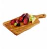 APS 876 Olive tabla rectangular madera olivo con mango 25x16x1.5cm