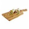 APS 877 Olive bandeja madera olivo m/ 9 cm 31x20x1.5 cm