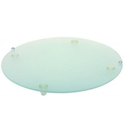 APS 972 Bandeja presentacion redondo vidrio para 14030007 ø38 cm