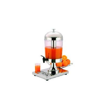 APS 10795 Dispensador zumo inox simple 8 l.