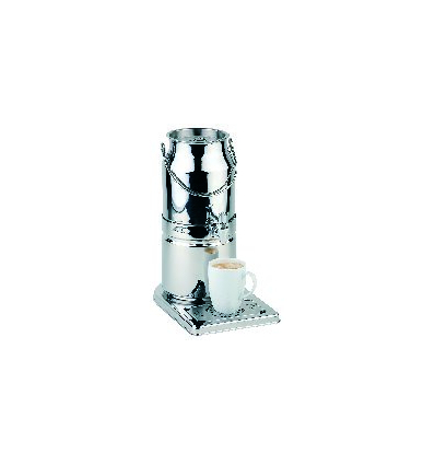 APS 10830 Dispensador leche inox brillante 3 l. 21x32x39 cm