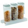 APS 11973 Dispensador cereales 7 piezas con tapas 38x17x28.5cm