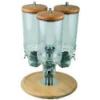 APS 11975 Rotation dispensador cereal triple 3x4.5l ø38x54cm