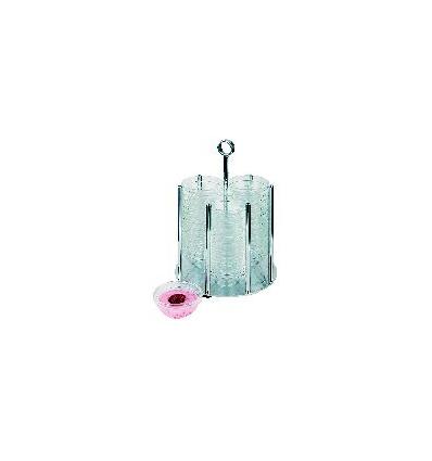 APS 11990 Medium soporte-dispensador inox s/bols ø17.5x46 cm