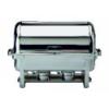 APS 12300 Chafing dish rectangular inox para gn 1/1 prof. 6.5 cm 9 l