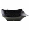 APS 84387 Cuenco melamina negro 36x36x11 cm