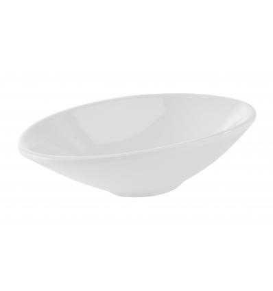 APS 84446 Mini bowl melamina blanco 13.5x7.5x3. 7 cl.
