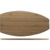 Atlantic bajoplato forma barco madera 34.5 cm